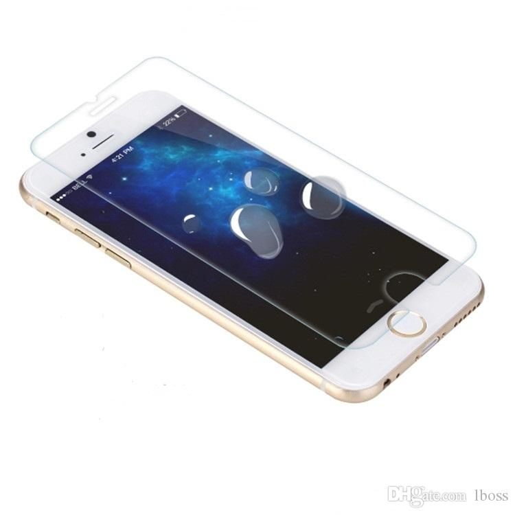 2.5D 9H Tempered Glass Screen Protector Explosion Shatter Proof With Retail Paper Box For iphone 5 5S 5C SE 4 4S 6 6S 7 Plus iphone5 iphone6