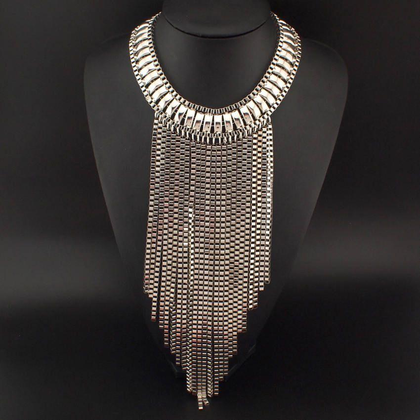 collier femme soiree