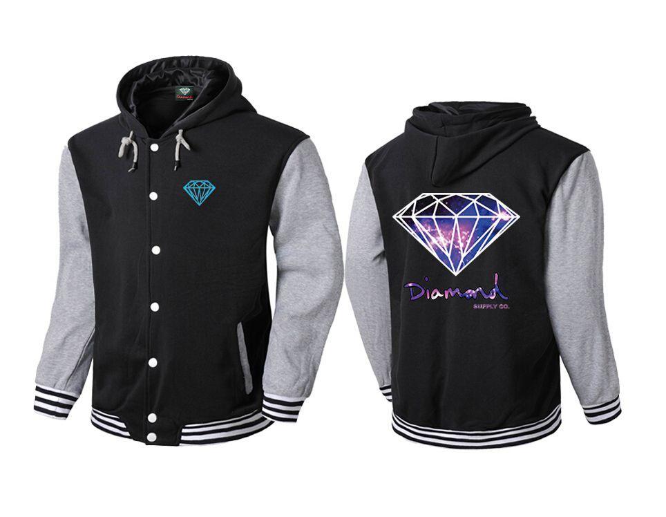 Diamond Supply hoodie for men diamonds hoodies hip hop hoody brand new 2016 sweatshirt men's clothes pullover
