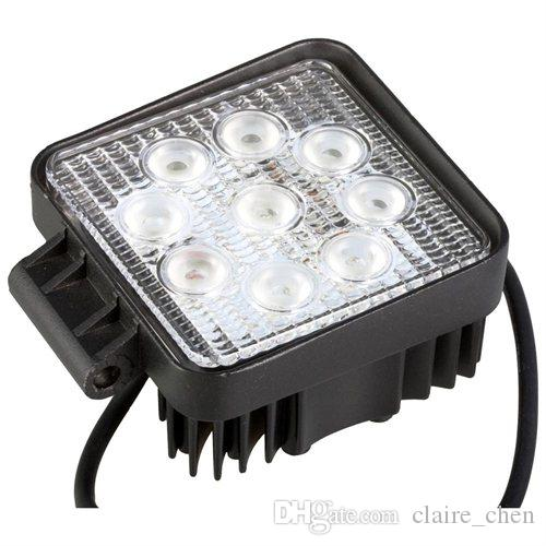 "4 "" 27W LED Work Light Led Car Fog Light for Driving Offroad Boat Car Tractor Truck 4x4 SUV ATV Flood 12V 24V"