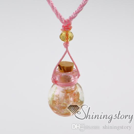 perfume sample vials small perfume bottle pendant necklace diffusers aromatherapy diffuser jewelry