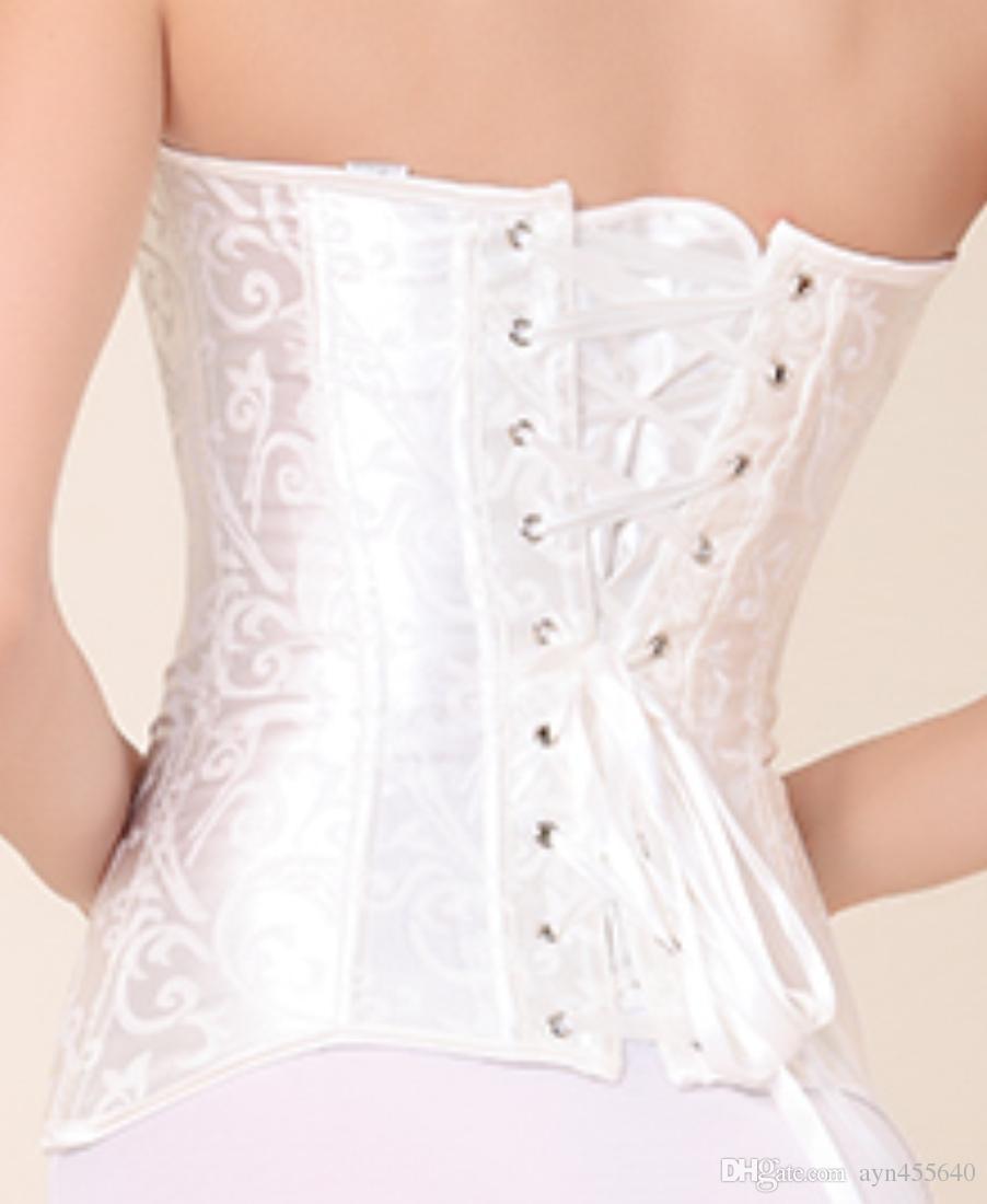 ترقية مثير ملابس داخلية للنساء كامل الصلب الجوفاء الخصر التدريب مشد underbust بوستير 3 ألوان الحجم XS - 6XL