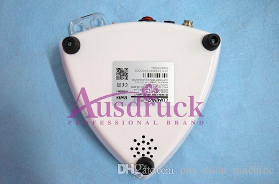 Mini moda Portátil Rejuvenecimiento Facial Radiofrecuencia RF Lifting facial estiramiento de la piel reducción de la celulitis belleza equipo de uso doméstico