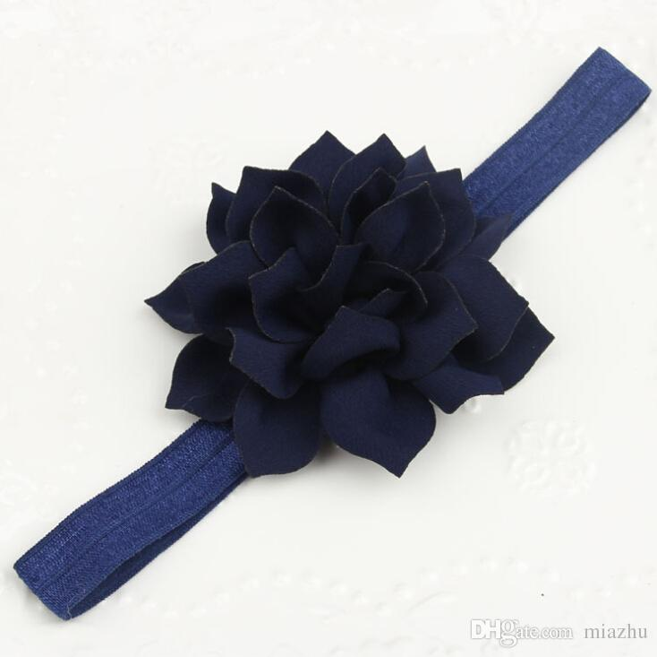 아기 소녀 머리 띠 신생아 머리띠 초라한 세련된 꽃 머리띠 레이스 머리띠 헤어 액세서리