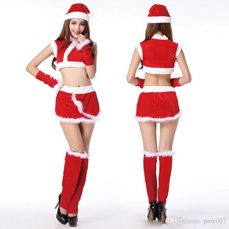 Christmas Outfit.Sexy Fantasy Christmas Outfit Santa Costume Women S Christmas Clothes Adult Clothes Christmas Suit X Mas Clothes Suit Costume Themes For Groups Female