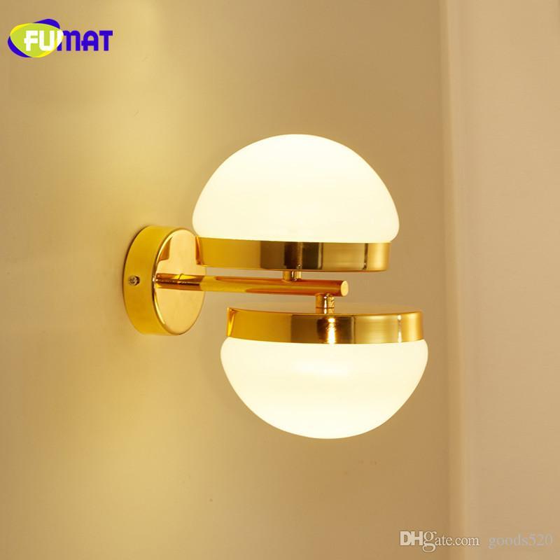2018 Gold Bedroom Wall Light Modern Led Bathroom Lamp Fixtures Gold ...