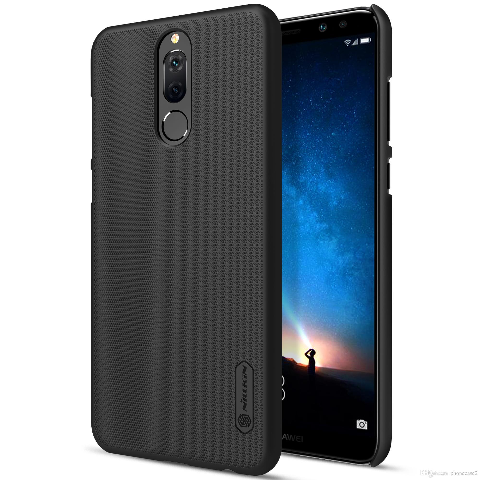 45f17fcdfe11d Huawei Nova 2i Kılıf Nillkin Buzlu Vaka Huawei Nova 2i Sert Plastik ...