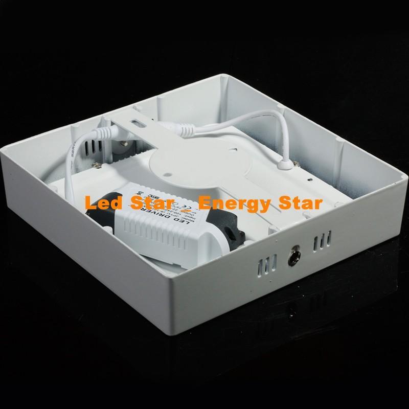 CA 85-265V 9W 15W 25W montaggio superficiale downlight Dimmable ha condotto la luce di pannello SMD2835 cerchio ultra sottile soffitto Giù cucina lampada Bagno
