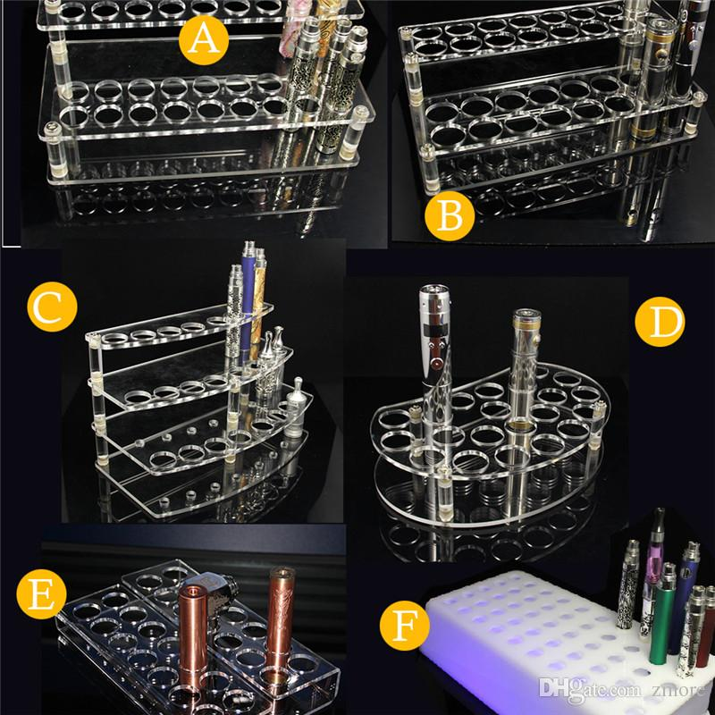 Acrylic Vape Display Stands Racks Showcase Shelf Holder For E Cig Inspiration Wire Display Stands Uk