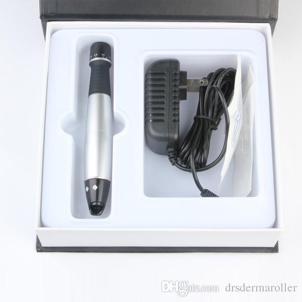 2015 самая последняя электрическая терапия skincare ручки DERMA микро-патроны иглы 0.25-3mm 25 иглы