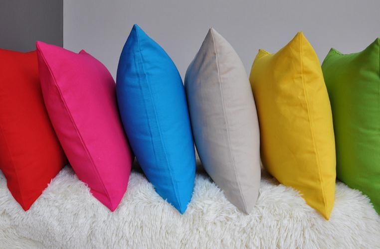 Massief Gekleurde Kussen Kussenhoezen Case Mode Mediterrane Stijl Kussenhoezen Case Thuis Textiel Décor Gift 13 Kleuren Drop Shipping