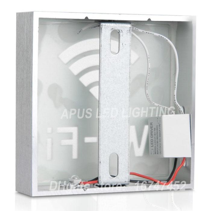 85-265v LED Indicator Lights Neon sign box direction LED indicat box Lighting board pattern of wifi wc male coffee