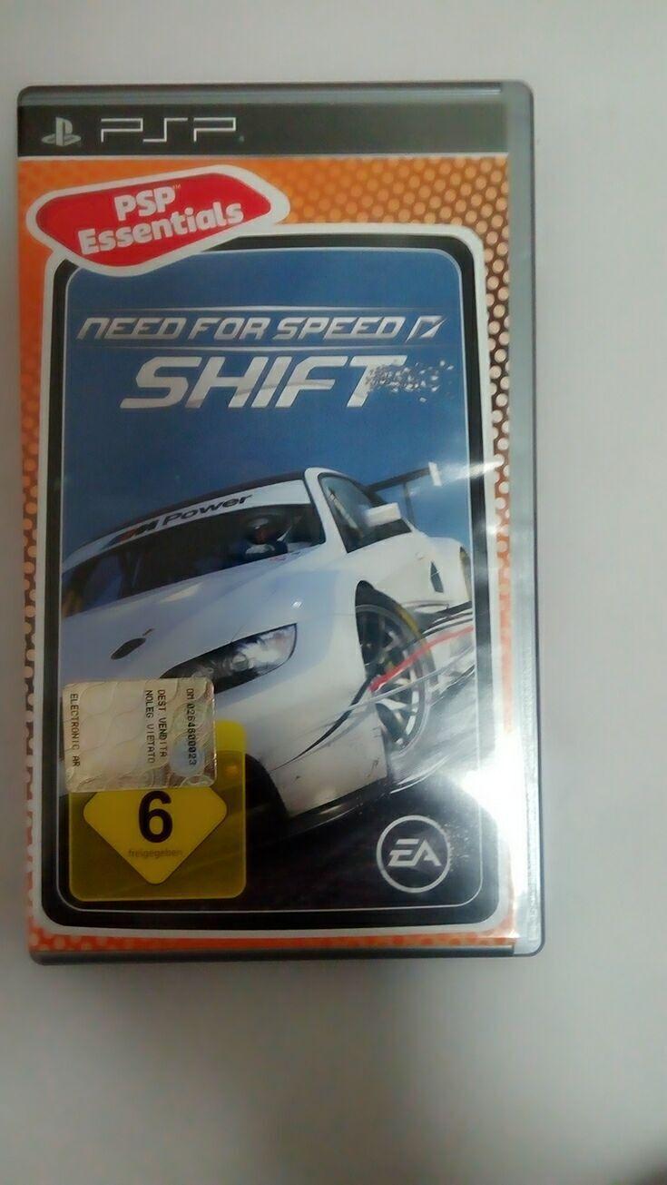 2017 Need For Speed Shift Psp GameUmd For Psp GamePsp 1000 ...