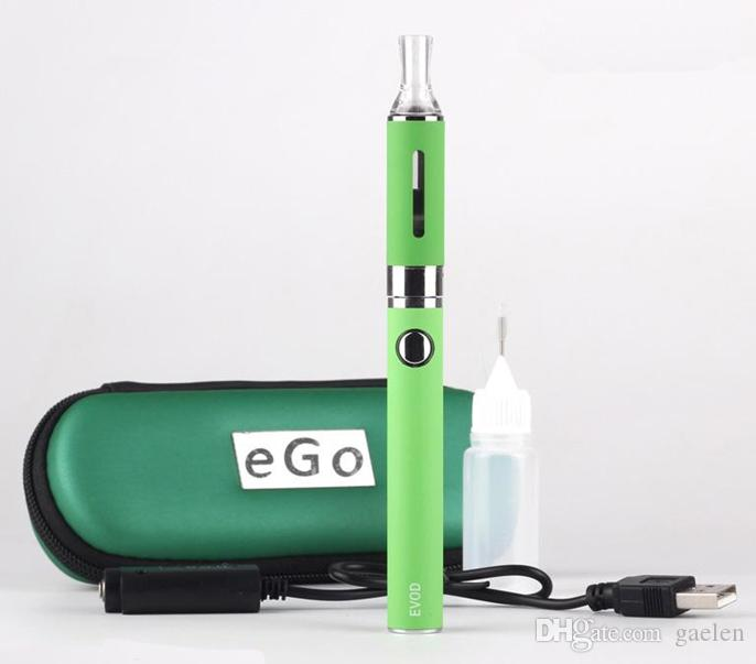 MT3 EVOD Kit de démarrage eGo Zipper Kits E Cigarette Ecig 650mah 900mah 1100mah EVOD Batterie MT3 Atomiseur Vape Vaporisateur Cartouches Vaporisateur