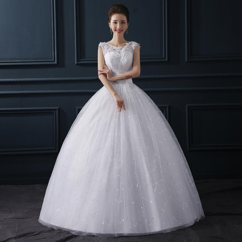 Discount Designer Wedding Gowns: Cheap China 2015 Sleeveless Wedding Dresses With Pleats