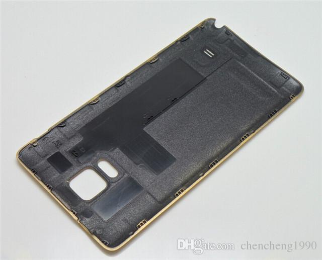 جديد oem استبدال البطارية الباب الخلفي حالة الإسكان استبدال لسامسونج غالاكسي ملاحظة 4 note4 note4 N910F N910A N910T N910V