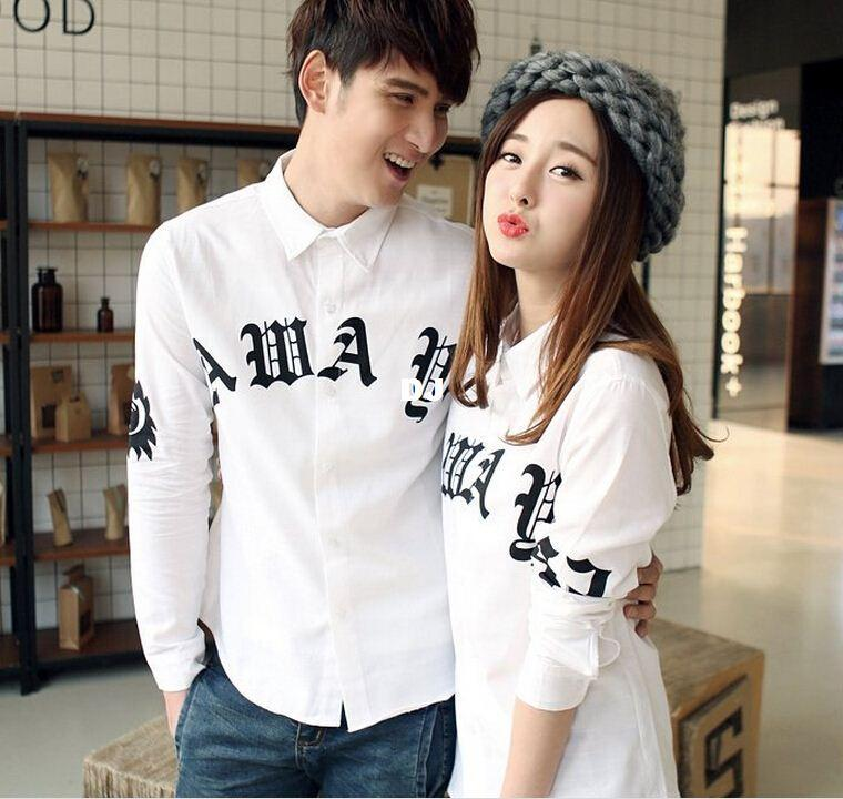 2018 lovers autumn 2015 spring new wild male korean couple