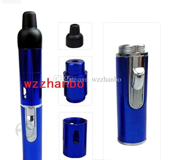 sneak A vape Click N Vape Mini Herbal Vaporizer smoking pipe Trouch Flame Lighter with built-in Wind Proof Torch Lighters