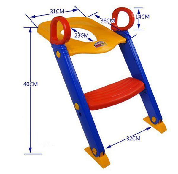 Bebek Yürüyor Lazımlık Eğitimi Tuvalet Merdiven Koltuk Adımları Güvenlik çocuk loo Sandalye / Çocuk tuvalet merdiveni sandalye