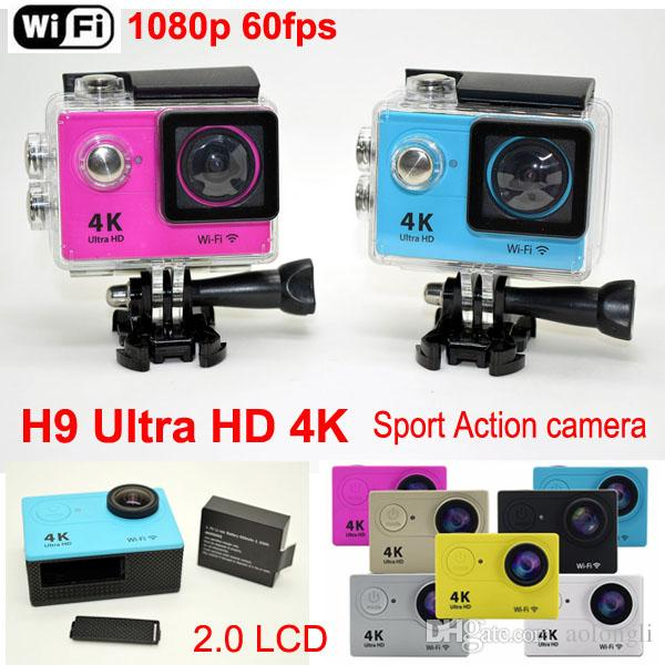 H9 Ultra Hd 4k Sports Action Camera 2.0 Lcd 1080p 60fps H.264 ...