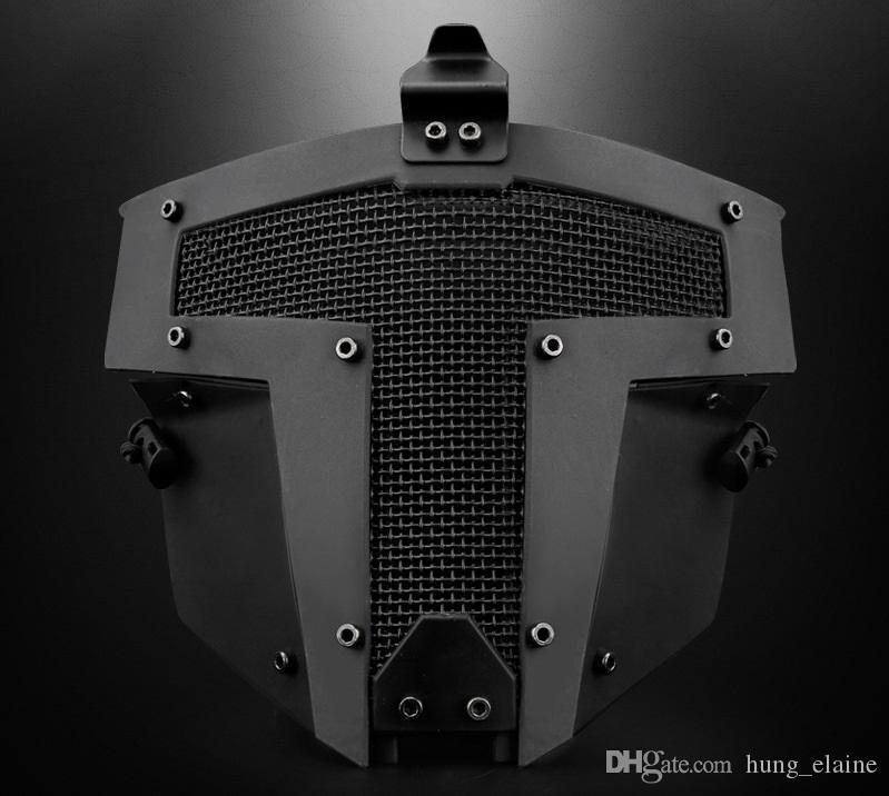 Acessórios de caça airsoft paintball tático homens de proteção meia face JAY FAST MASK para AF capacete para fotografar