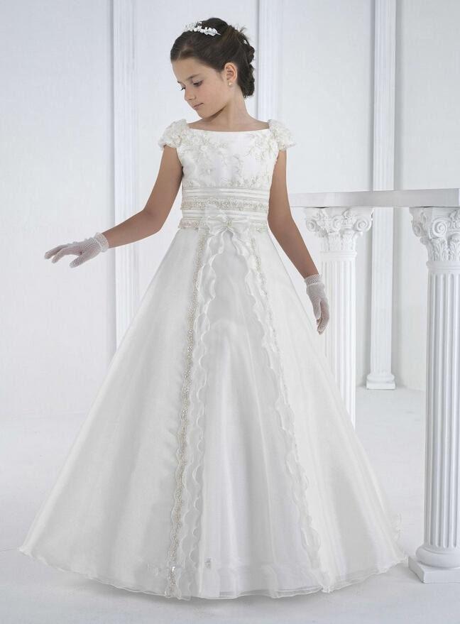 first communion dresses floor length princess white flower girl dresses girls white communion dresses vestidos de comunion