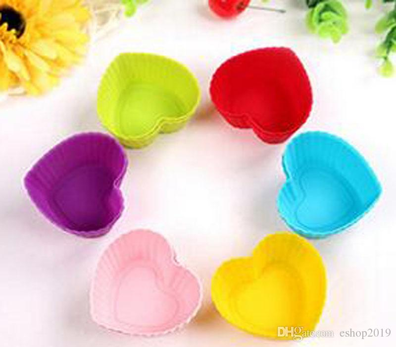 Color Cake Mold Cup Assorted 20 Design Muffin Cupake Mould Case Paper Baking Cup Liners Mould Cake Decoration
