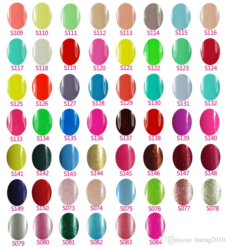 15 ml jel Lehçe kapalı uv jel oje 300 adet / grup 489Fashion renkleri mevcuttur