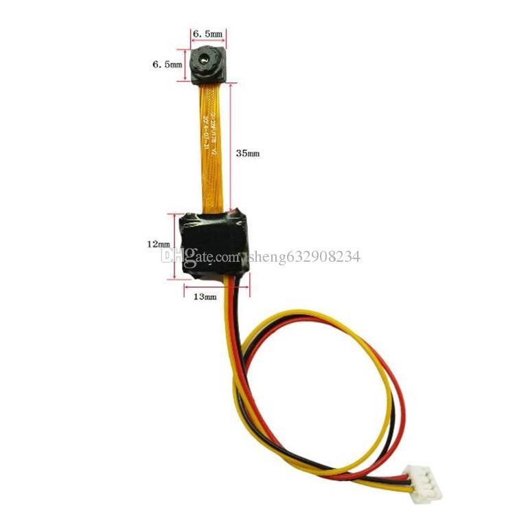 Il mini modulo della micro-macchina fotografica del microscopio da 5MP HD600TVL di industriale, medico più piccolo è soltanto macchina fotografica del cctv della macchina fotografica del foro di pinhole 6.5 * 6.5mm