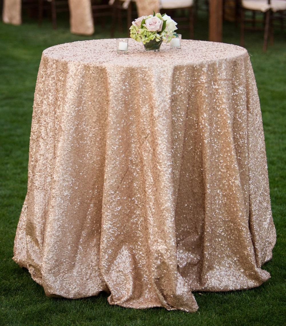 charming Champagne Table Clothes Part - 5: ShinyBeauty 120inch Round Champagne Sequin Table Cloth Cake Table Sequin  Tablecloth Wholesale Sequin Table Cloths Sequin Linens Sequin Table Cloth  Sequin ...