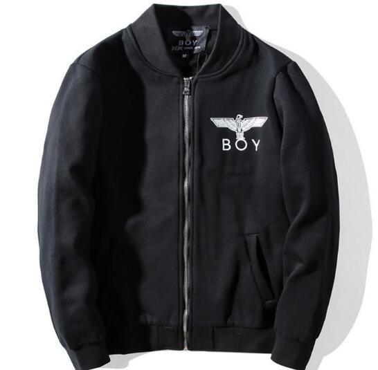 plus size M ~ 3XL Verkauf Punk boy london Adler stickerei männer jacke harajuku stehkragen bomer Kanye jacke Hiphop streetwear Outfitters