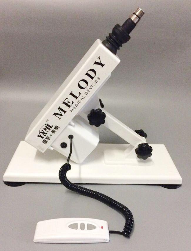 Новый белый секс-игрушка золотой пистолет/пушка машина мастурбация машина для женского пулемета с приложением дилдо
