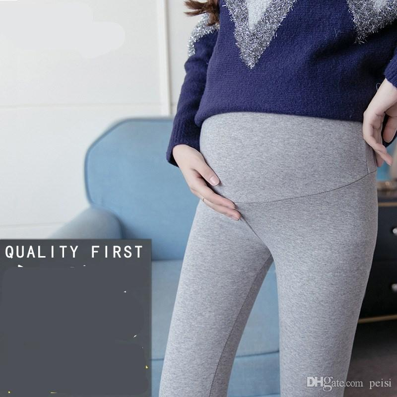 003fca9e14c 2019 Maternity Dress 2017 Pregnant Women Playing Underwear Spring And  Autumn Thin Section Wear Belly Small Feetbig Yards Maternity Pants Cotton  From Peisi