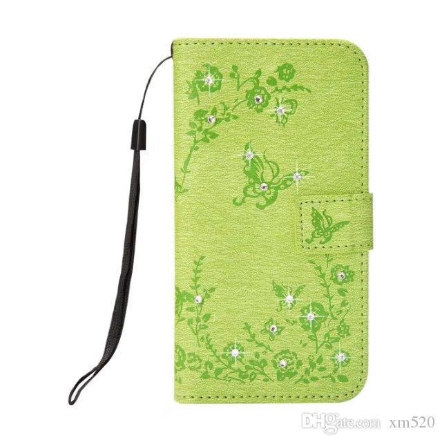 Für iphone x / 8 7/6 6s plus / 5 5s diamant blume magnetschnalle armband hand telefon case für samsung galaxy s5 6 7 rand 8 plus / note 8