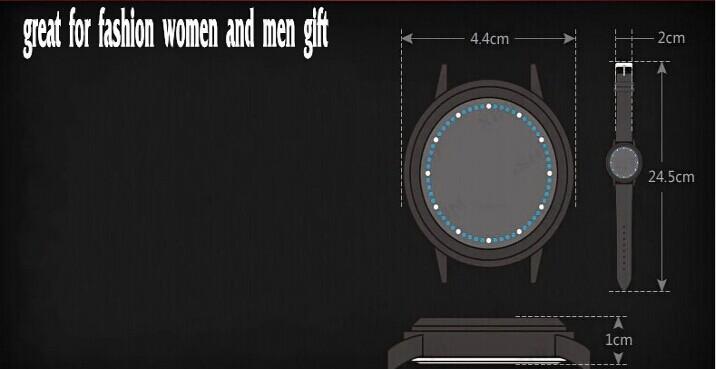 ناروتو أنيمي لامعة الصمام شاشة اللمس الرقمية ساعات المعصم ماء اليد للأزياء الرجال النساء هدايا عيد الميلاد مجوهرات