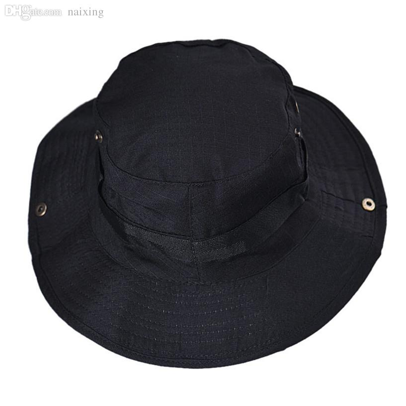 3d35fe39888 Wholesale-Fabulous Bucket Hat Boonie Hunting Fishing Outdoor Wide Cap Brim  12.23 Bucket Hats Cheap Bucket Hats Online with  22.72 Piece on Naixing s  Store ...