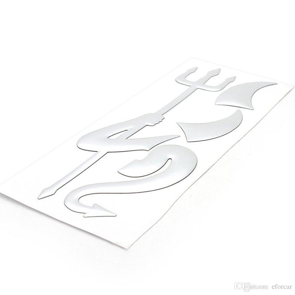 Araba Styling Sticker Liitle Şeytan Şeytan Oto Araç Emble Dekor Serin Kişiselleştirilmiş PVC Paster Araba Dış Aksesuarları Toptan