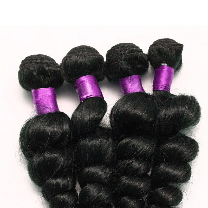Brazilian Loose Wave Virgin Hair Brazilian Virgin Hair 7A Unprocessed Virgin Brazilian Hair Loose Wave Cheap Human Wefts