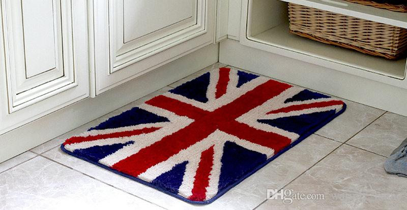 Hot Sale Floor Rug Indoor/Outdoor Carpets Doormats Pad Matting Protect Rugs Floor Cover Flag England Area Rugs Carpet Installation Price Cheap Carpet Tile ...
