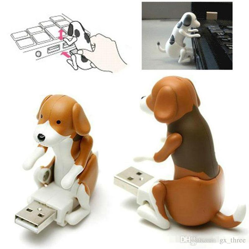 Mini Cute USB 2.0 Funny Humping Spot Toy Dog Alleviare la pressione Office Worker Miglior regalo U disco Halloween Natale