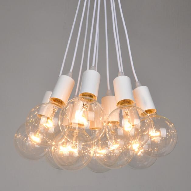 Discount Clearance Sale Edison Big Bulb Chandelier Vintage Lamp 8