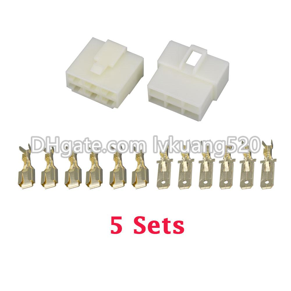 2018 /Kits All New 6 Pin/Way Dj7061 6.3 Electrical Wire Connectors ...