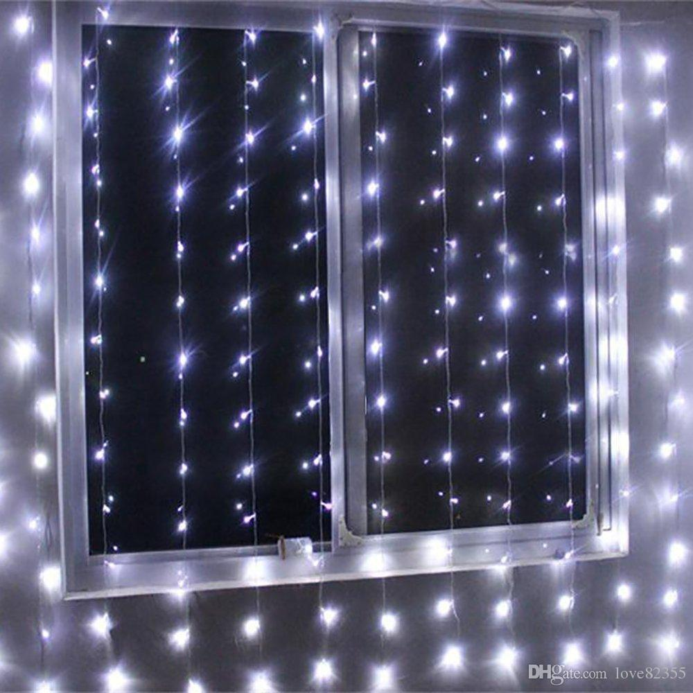 5mx3m 500 Led Curtain String Fairy Light With 8 Modes For Wedding Christmas  Xmas Party Home Festival Decoration Lighting Party String Lights Bulb String  ...