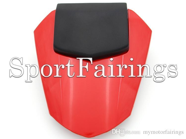 Cubierta del asiento trasero de la motocicleta para Yamaha YZF600 YZF-600 R6 Año 08 09 10 11 12 13 14 2008-2014 Inyección ABS Cubierta de asiento de plástico Personalizar colores