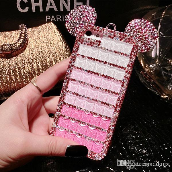 iphone 6 plus glitter cases with ears