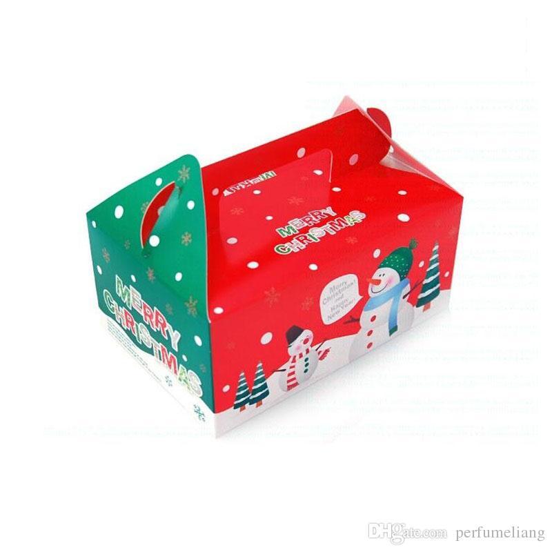 Scatole Per Regali Di Natale.Acquista Scatola Di Natale Biscotto Di Pan Di Zenzero Scatole Di