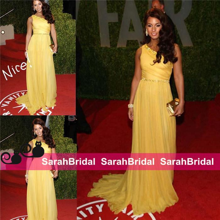 Alicia Keys Vanity Fair Oscar Party Celebrity Dresses Floor Length ...