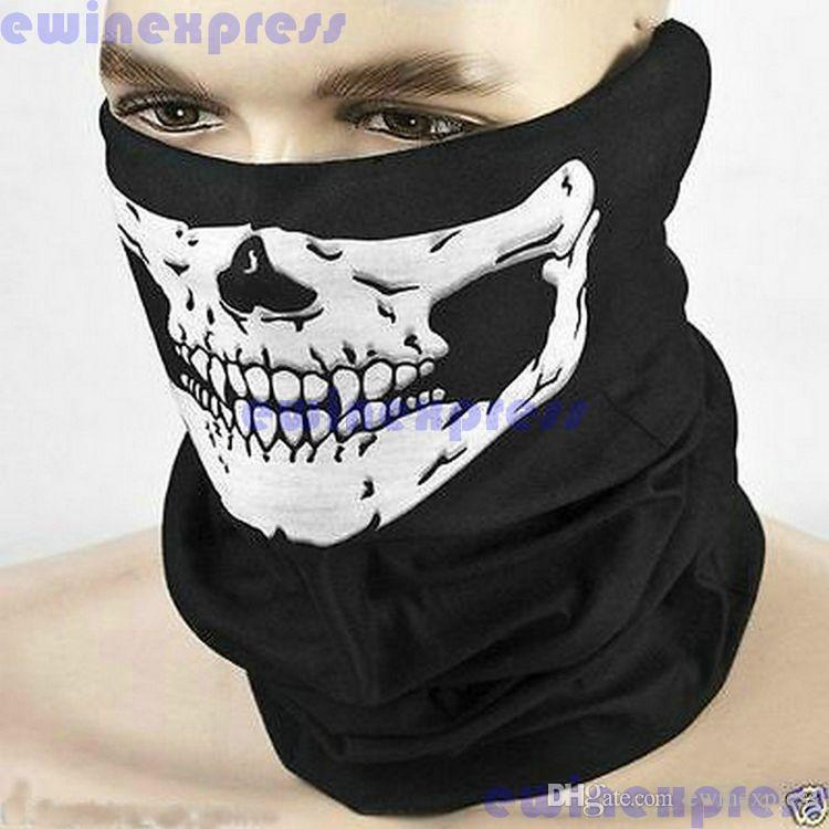 Cycling Mask new Skull Bandana Bike Helmet Neck Face Mask Paintball Sport Headband Hats, Scarves & Gloves Scarves & Wraps