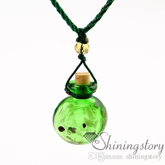 Эфирное масло Jewelry Murano ожерелье стекла ароматерапия ароматерапия Медальон ожерелье диффузор для эфирных масел