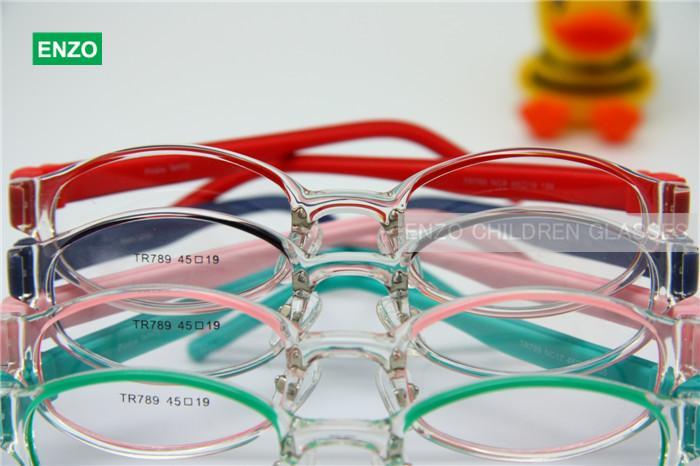 Kids Eyeglasses Frame Size 45mm Flexible Silicone Bendable, Legs ...